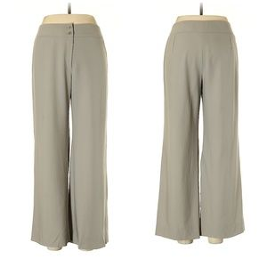 Armani Collezioni Light Gray Wool Pants